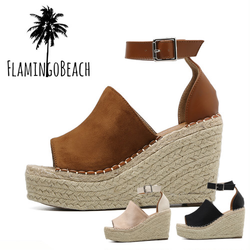 【FlamingoBeach】platform sandals サンダル
