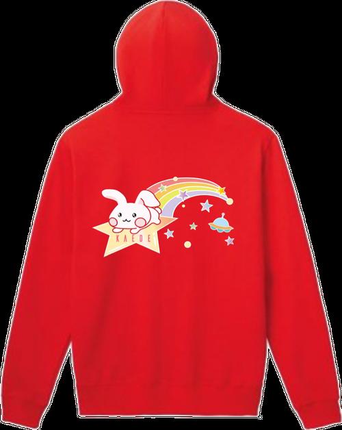 『星宮 楓』× 『RAVIY』Happines ぴょんちゃん!パーカー
