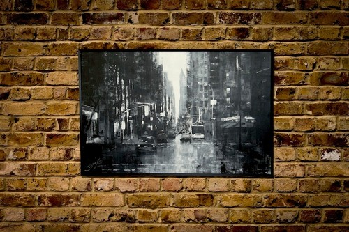New York, city scape composition #5 (額入り特別作品)