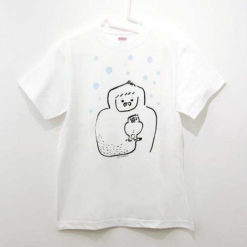 『イエティに育てられた文鳥』T-shirt