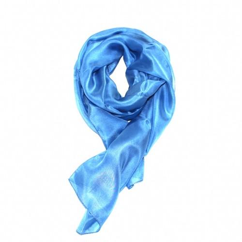 本藍染めシルクストール 縹