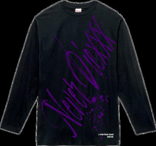 "【NEW】AKARA ロングTシャツ ""Never Die"""
