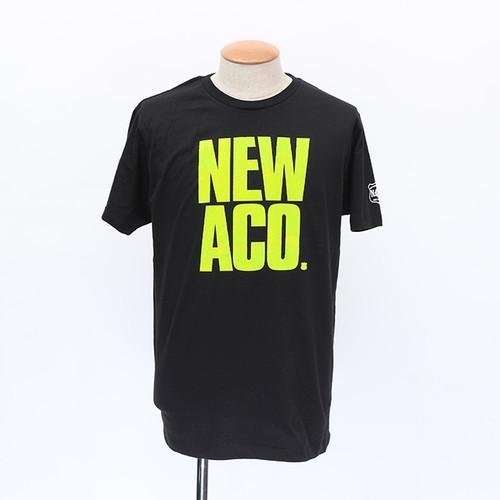NAC18 NEWACO tee / BLACK×YELLOW