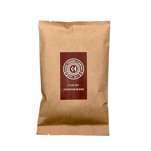 アウトドアブレンド「焚き火」レギュラーコーヒー 100g