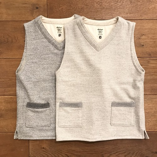 JACKMAN 『SWEAT VEST(pelican exclusive)』