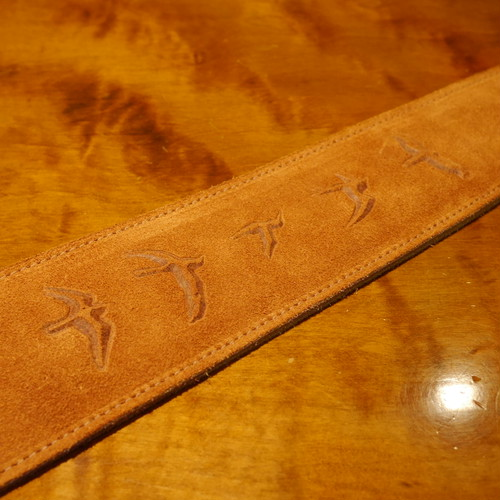 PRS Levy-Made Suede PRS Bird Strap / Copper