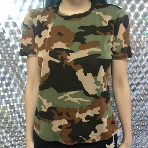 mesh army t shirts