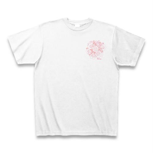 カルミア フラワーイラストTシャツ ワンポイント