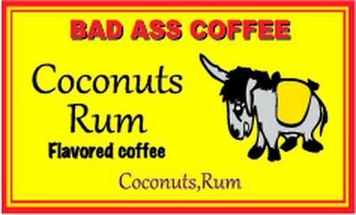 Coconuts Rum (ココナッツラム) ハワイアンコーヒー・フレーバーコーヒー・コナコーヒー・バッドアスコーヒー