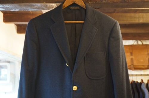 Brooks Brothers × MOON three-button wool Blazer
