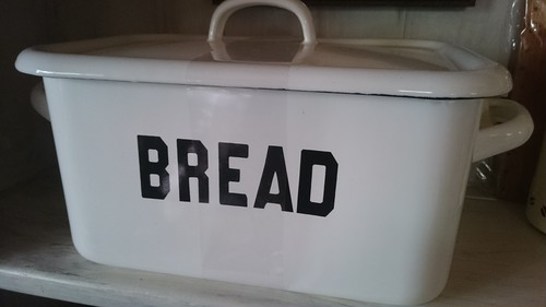 ホーロー ブレッド缶  BREAD