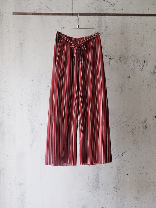 cropped stripe summer  pants