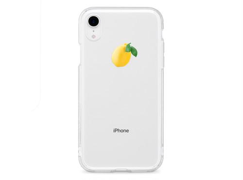 リアルレモン - XS XR XSmax X 8 8Plus 7 7Plus 6sPlus 6s SE 5s iPhone ケース -