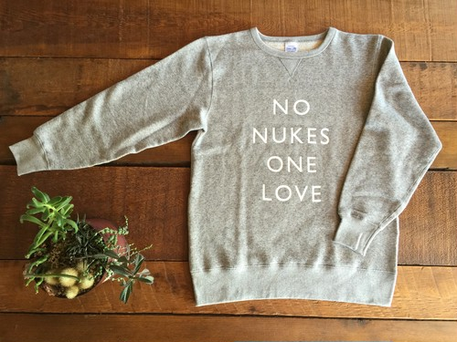 NO NUKES ONE LOVE Sweat