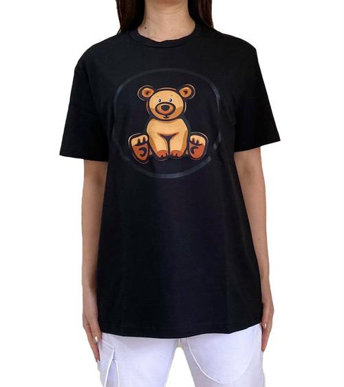 【SKANDHAL】CARPI Tシャツ【ブラック】イタリアンウェア《M&W》