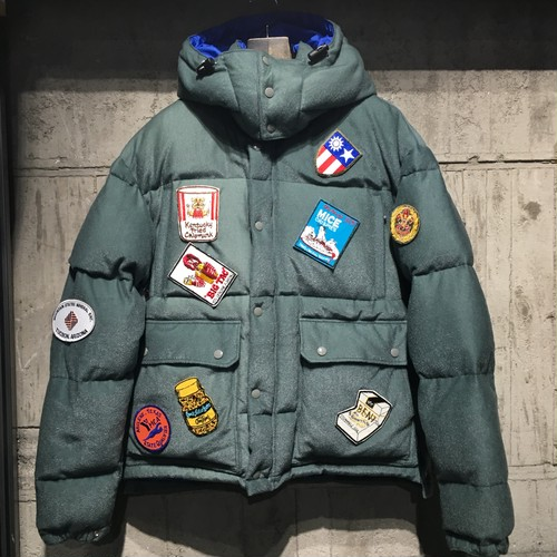 【SEVESKIG】FRENCH PILE WAPPEN DOWN JACKET