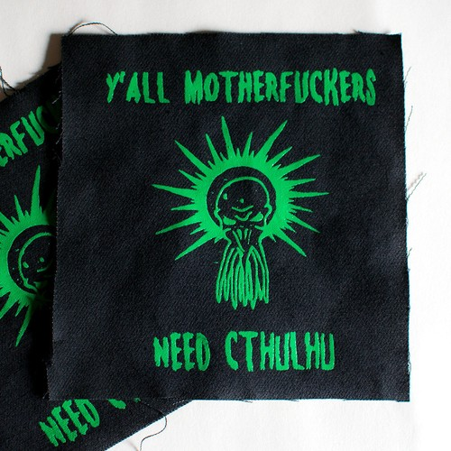 """MajorCrimesDivision"""" Y'all motherfu***rs need Cthulhu - Punk patch"""""""