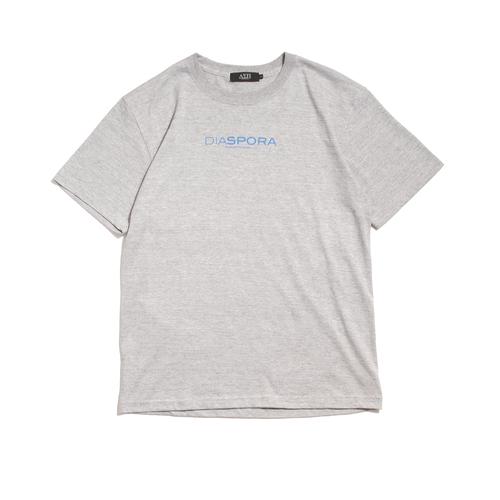 Diaspora Skateboards【ディアスポラスケートボーズ】BM Logo Tee (Grey)