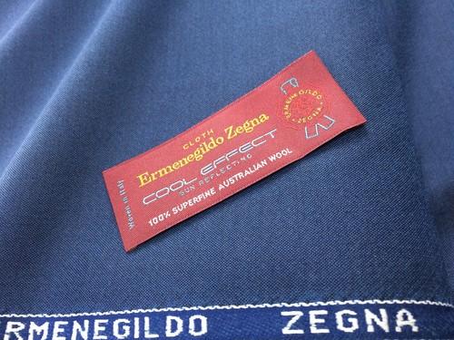Ermenegildo ZegnaオーダースーツCOOLEFFECT