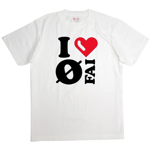 FAI オリジナル Tシャツ(I❤FAI ver. type HIME)