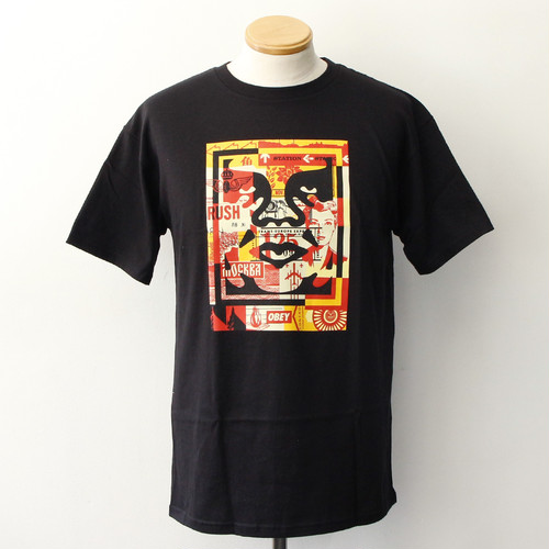 OBEY 3 FACE COLLAGE [BASIC] (BLACK)
