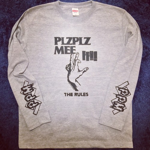 THE RULES L/S TEE GRAY