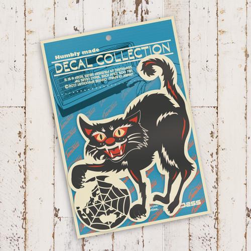 GIRL(S) オリジナルステッカー ■ BLACK CAT