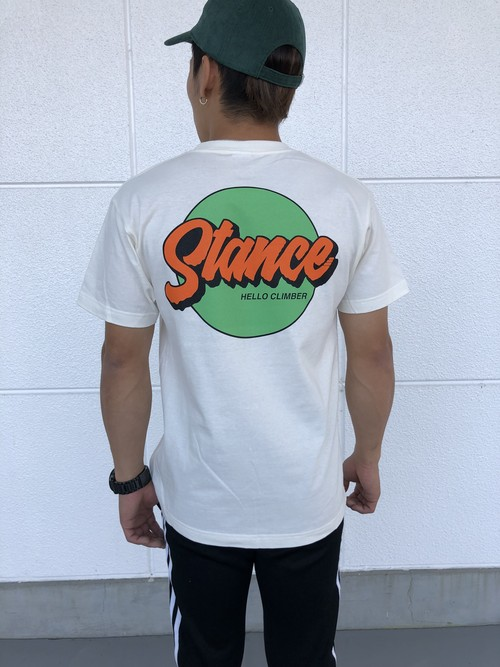 STANCE circle tee/Ivory