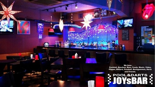 JOYs BAR|川崎市|POOL & DARTS BAR