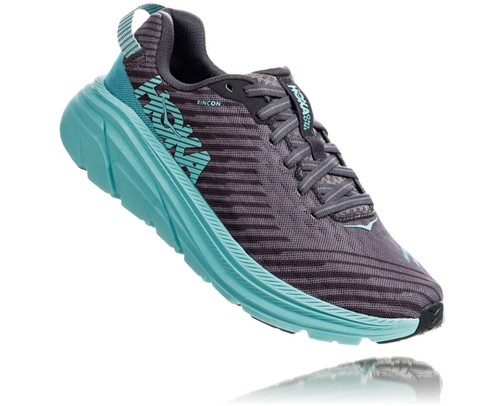 HOKA ONE ONE / RINCON Women's 《Charcoal Gray × Aqua Sky》