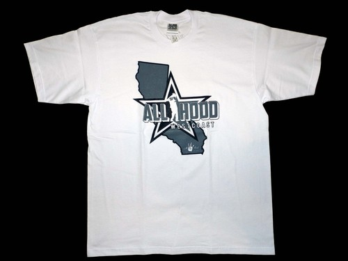 Cali Westcoast (ALLHOOD) White × gray