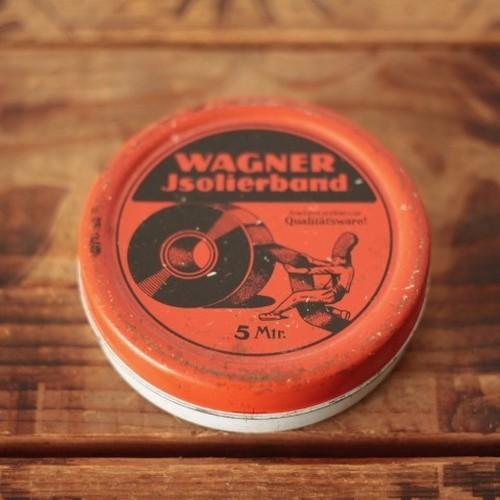ドイツ ヴィンテージ Wagner Jsolierband テープの缶 ティン缶/tin缶
