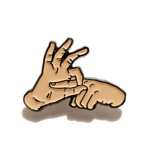 """DRTY""""DRTY HANDS V2 PIN"""""""