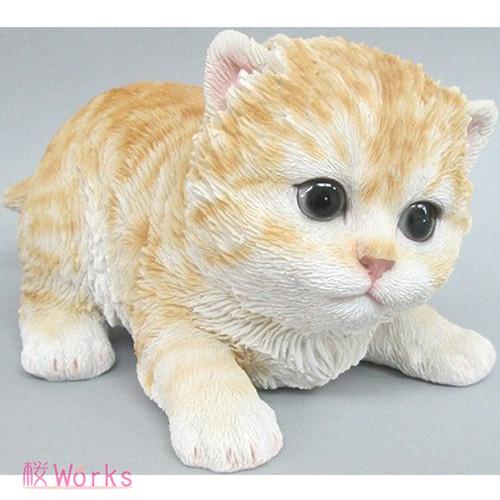 置き物 オブジェ ねこ ネコ 猫 トラ おしゃれ 雑貨