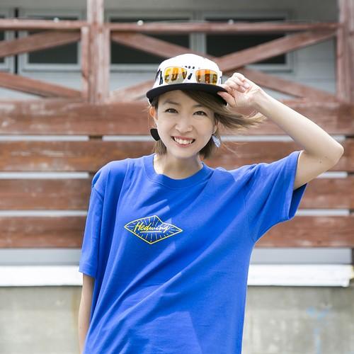 Emblem T-shirt Blue