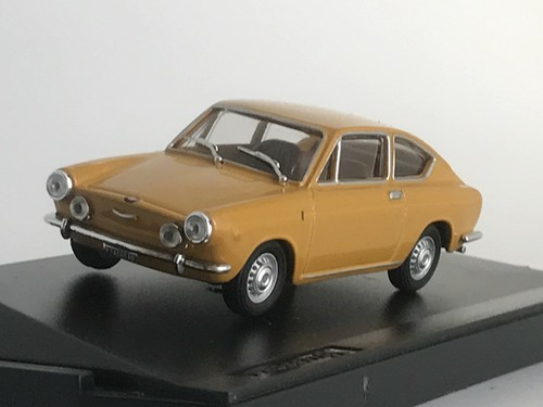 FIAT 850 SPORT COUPE STRADALE 1968 【1/43】【PROGETTOK、MADE IN ITALY】
