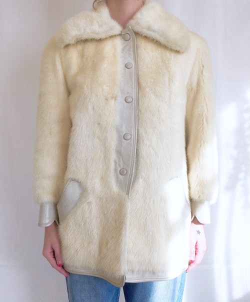 vintage mink fur coat