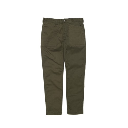 STRETCHED TAPERED PANTS - KHAKI