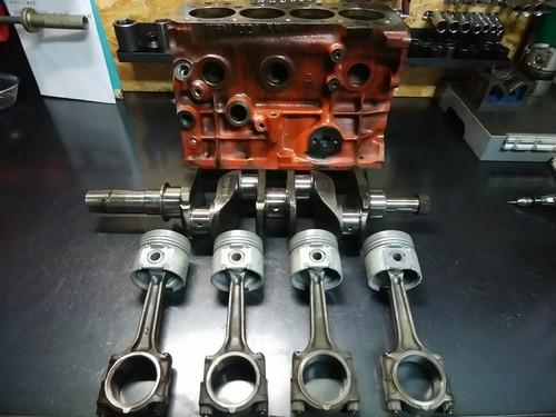 96以前 12A 1.3iクーパー用エンジン
