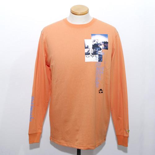 【Mark Gonzales】POEM LS TEE (Light Orange)