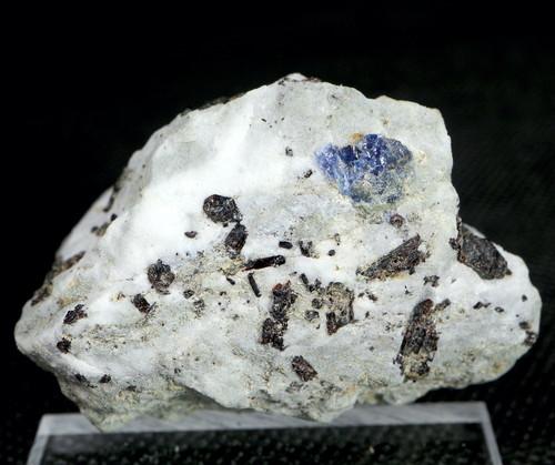 自主採掘!ベニトアイト + ネプチュナイト  ベニト石  カリフォルニア産 50,9g BN055 鉱物 天然石 パワーストーン