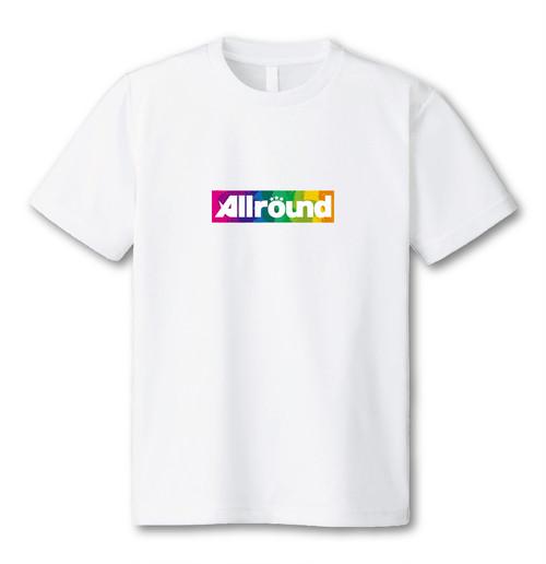 All round ペイントTシャツ ミニbox logo