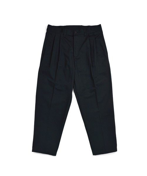 Loose 2Tuck Tapered Trouser 19SS / BLACK