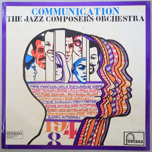 THE JAZZ COMPOSER'S ORCHESTRA/COMMUNICATION 蘭オリジナル