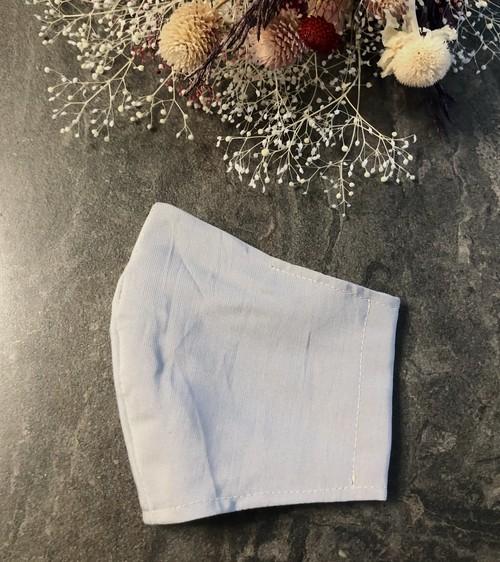 夏用 マスク 布 ワイヤー入り/ポケット付【女性サイズ】015クール グレー