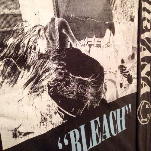 """Vintage 90s NIRVANA """" BLEACH """" L/S Tee"""