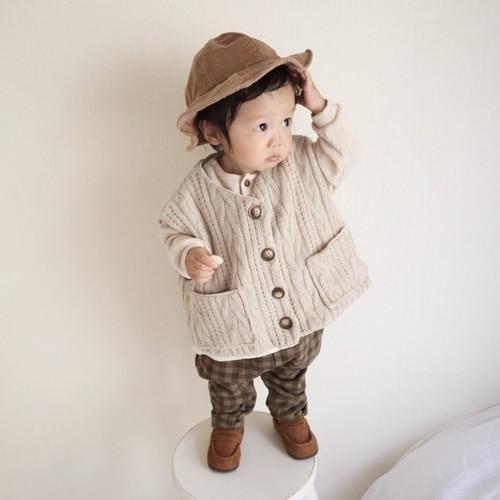 【即納】opening & dorothy knit vest