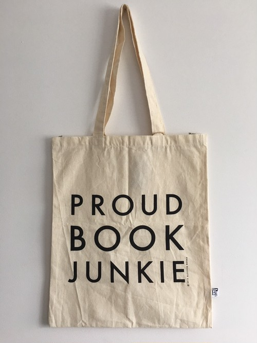 Proud Book Junkie コットンエコバック