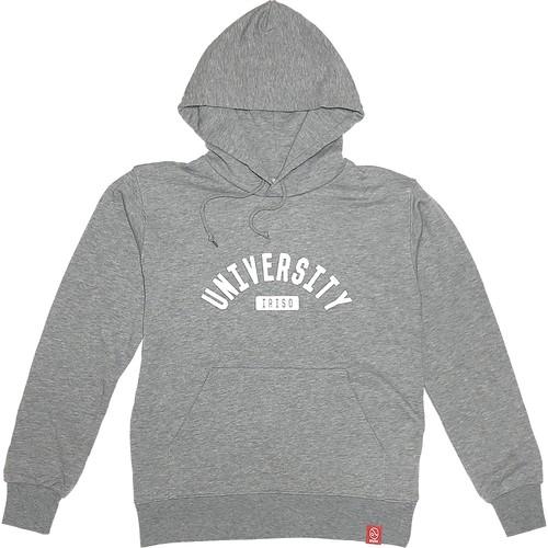 UNIVERSITY IRISO 灰 (パーカー)