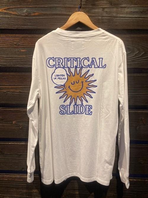 Critical Slide  SUNNY BOY LS TEE  V.White  Lサイズ  TE2159